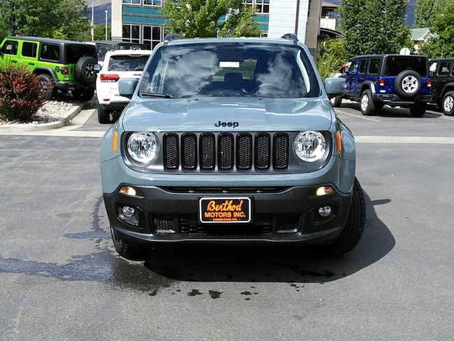 New 2018 Jeep Renegade ALTITUDE 4X4 Sport Utility For Sale Glenwood Springs, CO