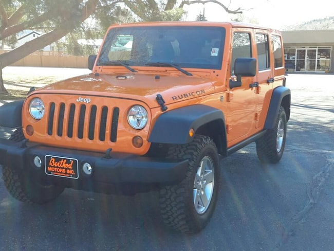 Used 2012 Jeep Wrangler Unlimited Rubicon Wagon; Open Body For Sale Glenwood Springs, CO