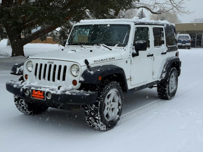 Used 2011 Jeep Wrangler Unlimited Rubicon Wagon; Extended; Open Body For Sale Glenwood Springs, CO