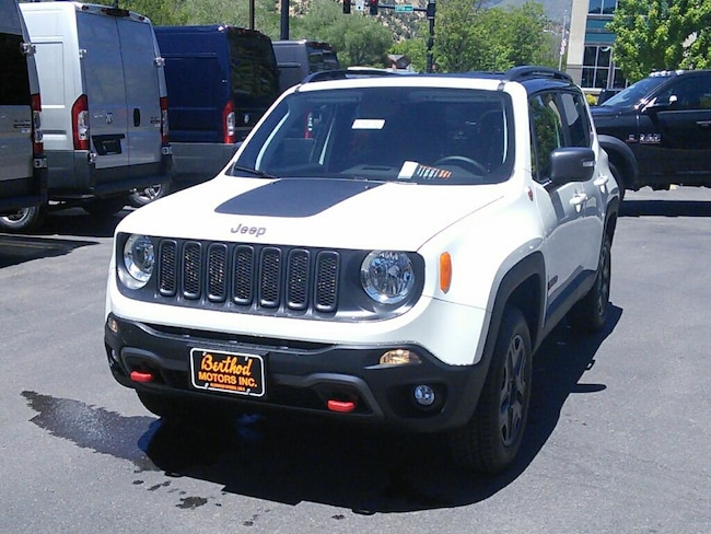 New 2018 Jeep Renegade TRAILHAWK 4X4 Sport Utility For Sale Glenwood Springs, CO
