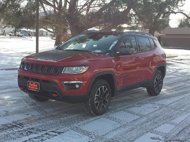 New 2019 Jeep Compass TRAILHAWK 4X4 Sport Utility For Sale/Lease Glenwood Springs, CO