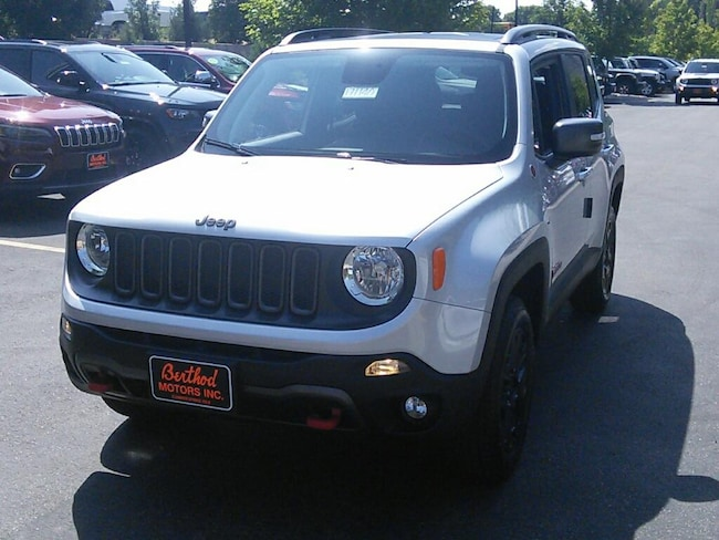 New 2018 Jeep Renegade TRAILHAWK 4X4 Sport Utility For Sale/Lease Glenwood Springs, CO