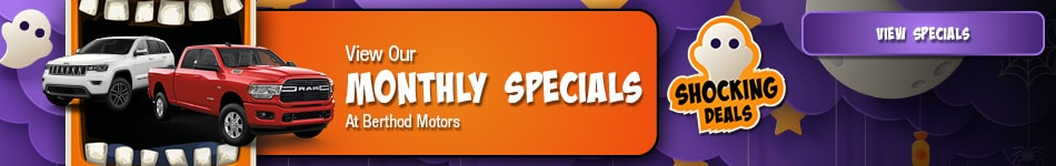 October 2020 Monthly Specials