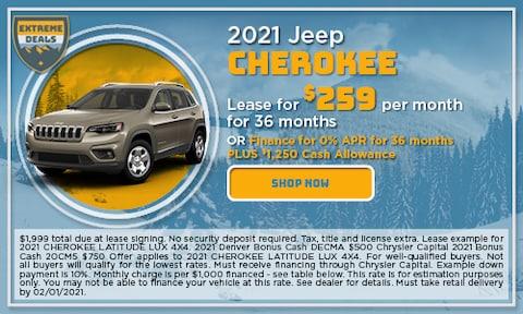 January 2021 Cherokee Special