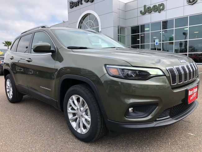 New 2019 Jeep Cherokee LATITUDE FWD Sport Utility in Harlingen