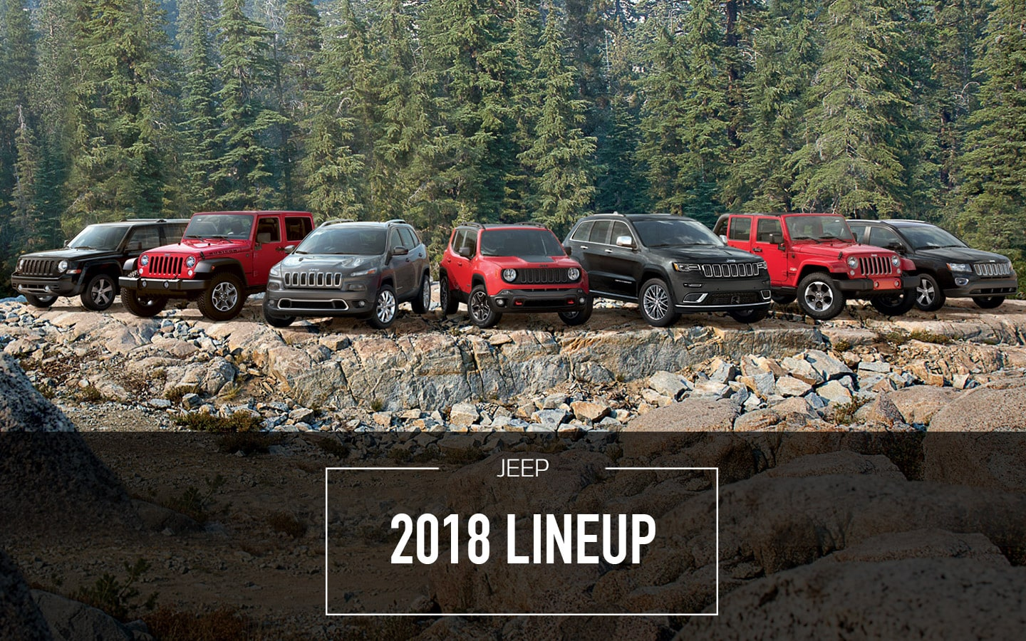 2018 Jeep Lineup At Bert Ogden
