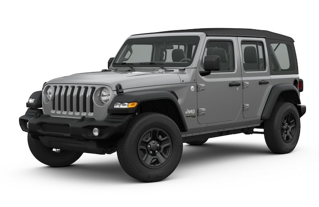 New 2019 Jeep Wrangler UNLIMITED SPORT 4X4 Sport Utility in Harlingen