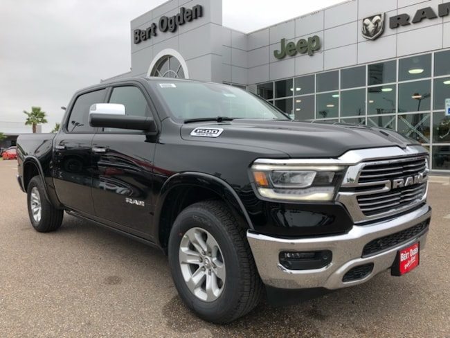 New 2019 Ram 1500 LARAMIE CREW CAB 4X4 5'7 BOX Crew Cab in Harlingen