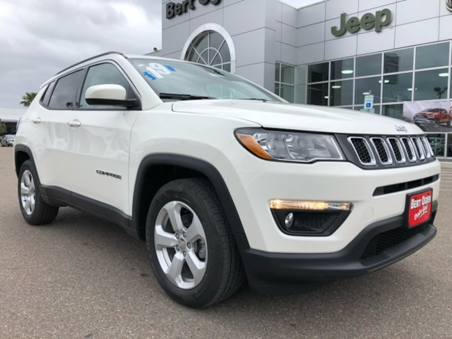 New 2019 Jeep Compass LATITUDE FWD Sport Utility in Harlingen
