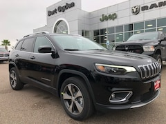 New 2019 Jeep Cherokee LIMITED FWD Sport Utility 1C4PJLDXXKD317588 Harlingen