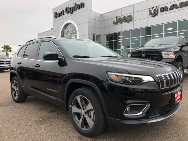 New 2019 Jeep Cherokee LIMITED FWD Sport Utility in Harlingen