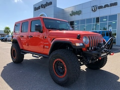 New 2018 Jeep Wrangler UNLIMITED SAHARA 4X4 Sport Utility Harlingen