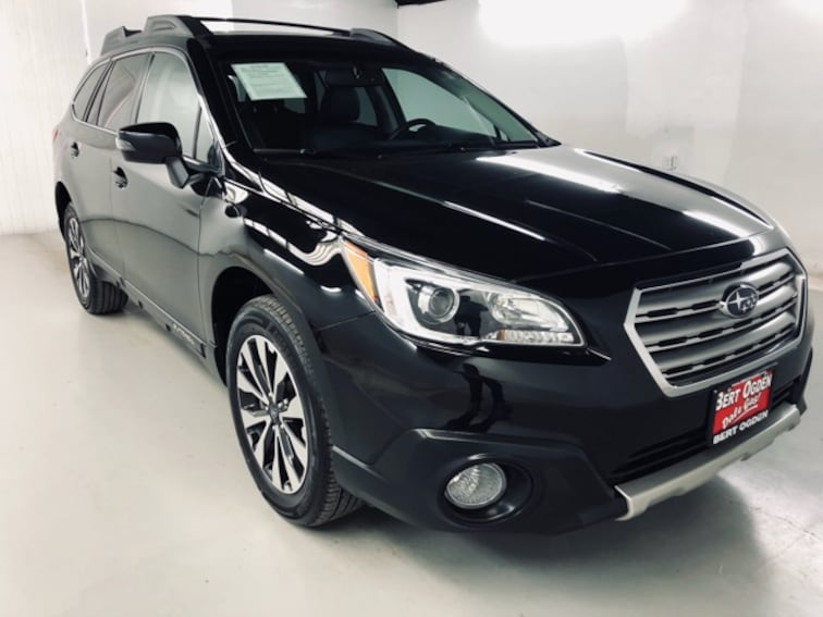 Used 2017 Subaru Outback 2 5i Limited With For Sale In Edinburg Tx