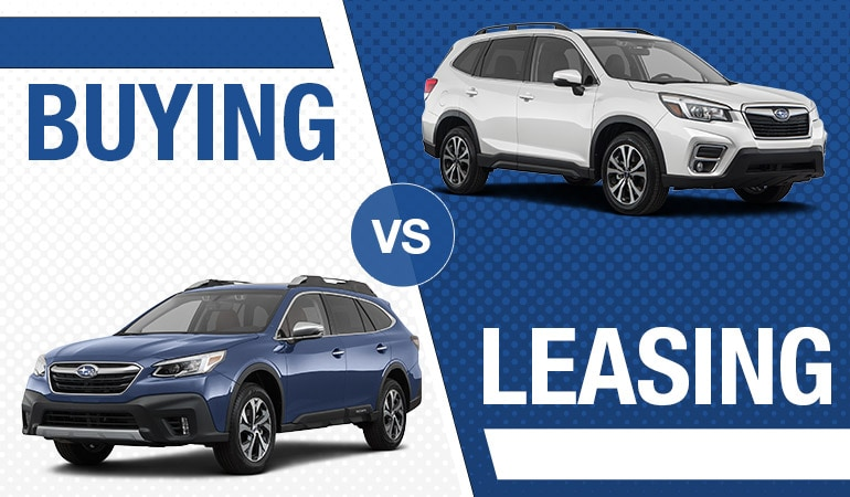 Buying vs. Leasing - Bert Ogden Subaru in Edinburg, Texas