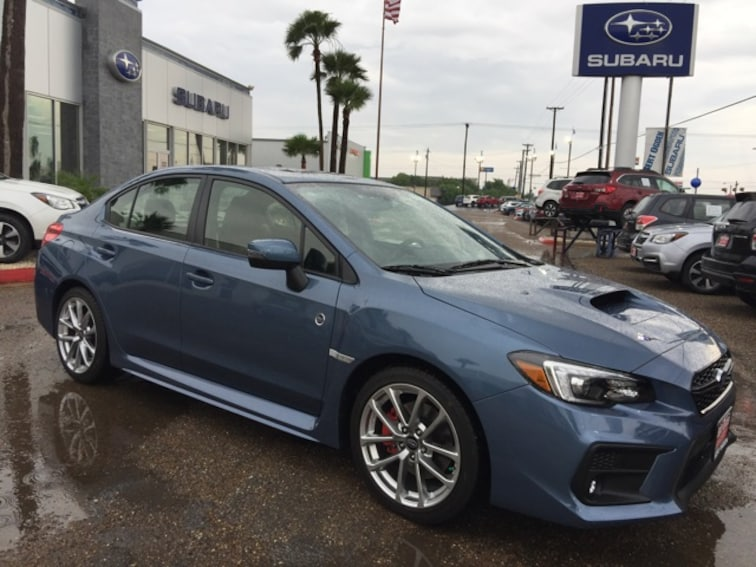 2018 Subaru WRX Limited 50th Anniversary Edition Sedan JF1VA1K64J9827254