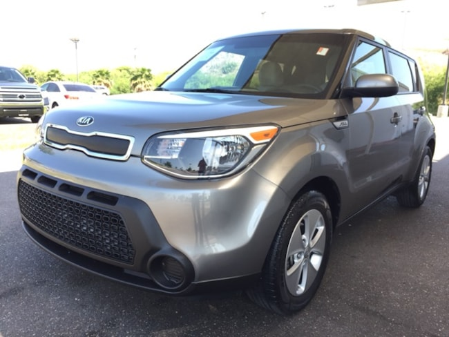 Used 2015 Kia Soul Base FWD Hatchback in Edinburg, Texas, at Volvo of Edinburg