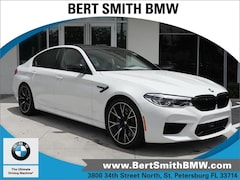New 2019 BMW M5 Competition Sedan WBSJF0C58KB448125 for Sale in Saint Petersburg, FL