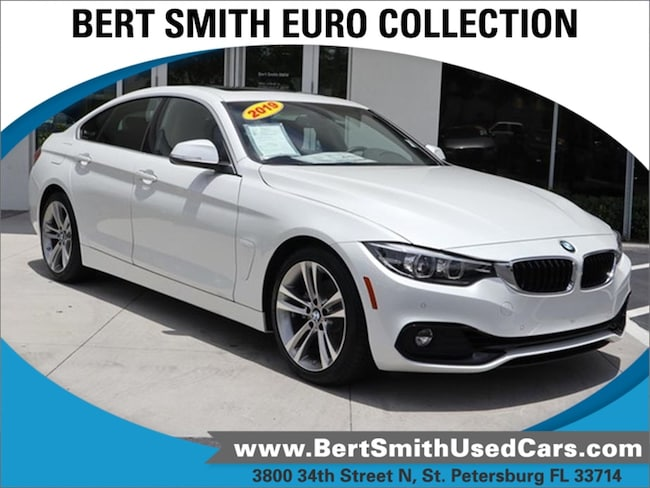 pre-owned 2019 BMW 4 Series 430i Coupe WBA4J1C52KBM18740 St. Petersburg