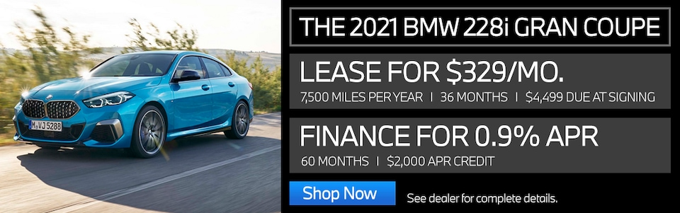 New Vehicle Special - 2021 228i