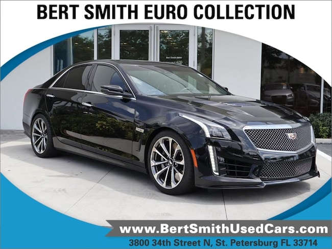 Cadillac Cts V Used >> Used 2017 Cadillac Cts V Sedan For Sale In Saint Petersburg Fl