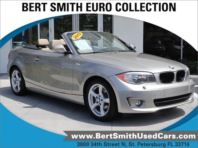 pre-owned 2013 BMW 1 Series 128i Convertible WBAUL7C56DVU08811 St. Petersburg