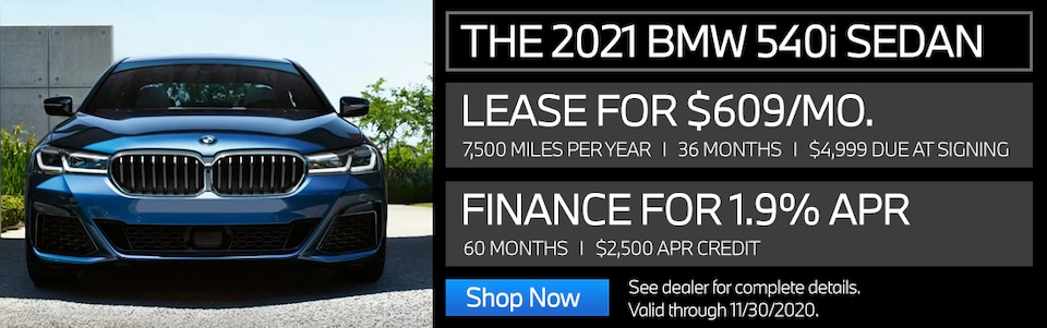 New Vehicle Special - 2021 540i