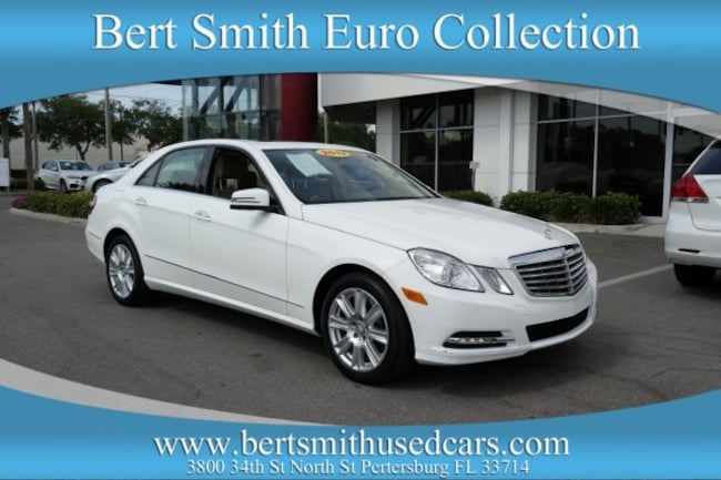 2013 Mercedes-Benz E-Class E 350 Luxury BlueTEC Sedan