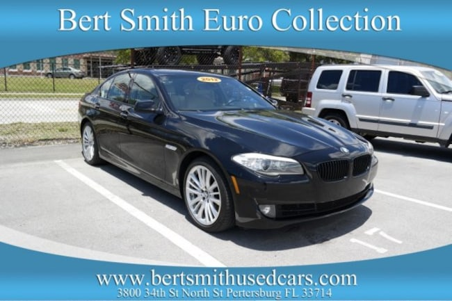 2012 BMW 5 Series 550i Sedan