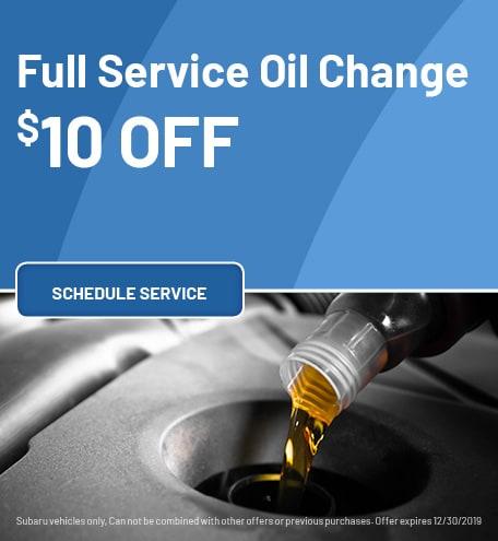 Full Service Oil Change