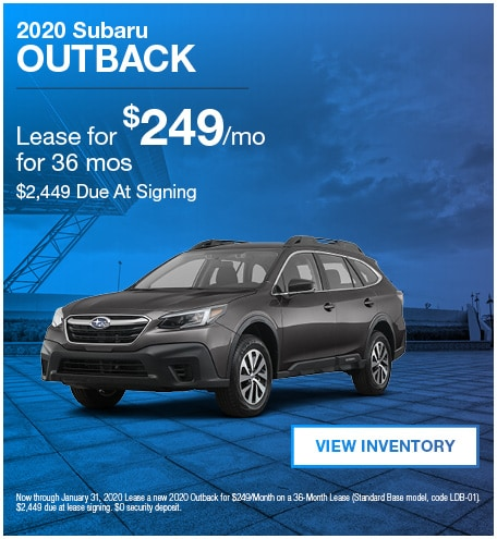 January 2020 Outback Lease