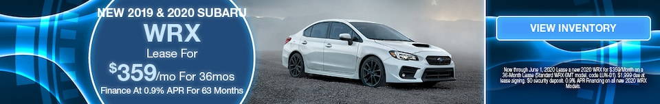 May 2020 WRX Lease