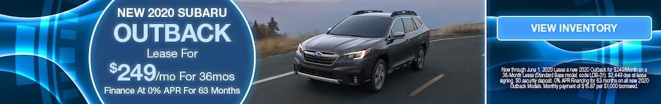 May 2020 Subaru Outback