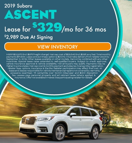 August 2019 Ascent Lease
