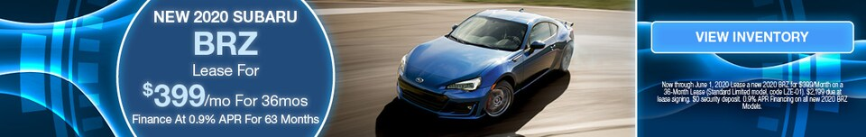 May 2020 BRZ Lease