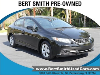 Used 2015 Honda Civic Sedan LX CVT LX 19XFB2F59FE102061 for Sale in St. Petersburg, FL