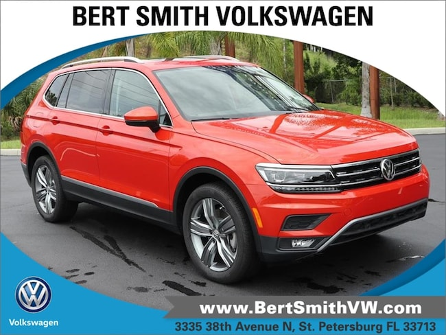 2018 Volkswagen Tiguan SEL Premium 2.0T SEL Premium FWD