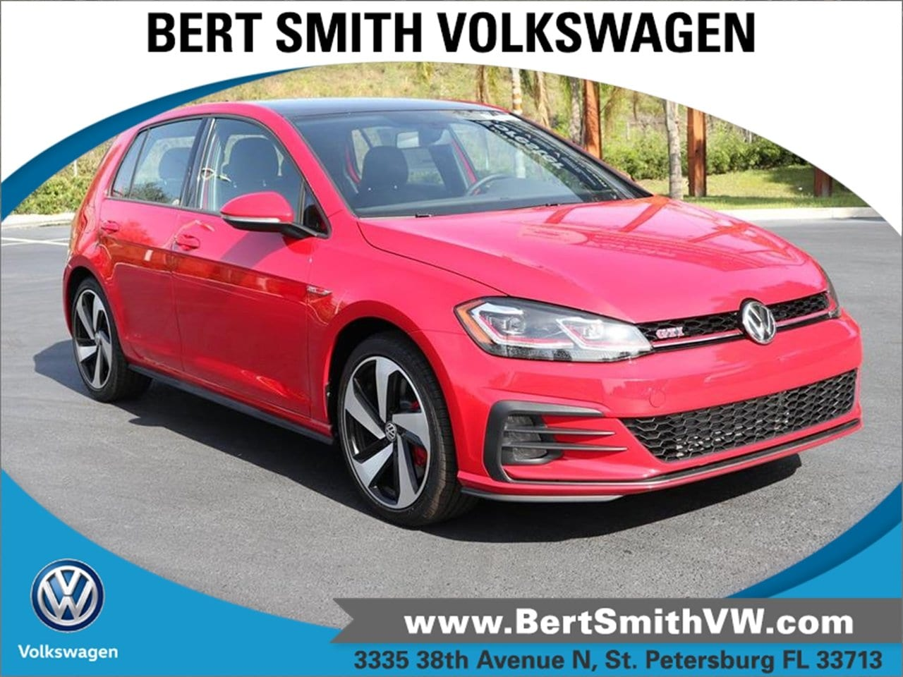 2019 Volkswagen Golf GTI 2.0T SE Manual