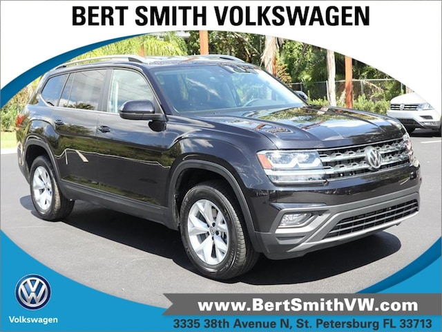 2018 Volkswagen Atlas 3.6L V6 SE w/Technology 3.6L V6 SE w/Technology 4MOTION