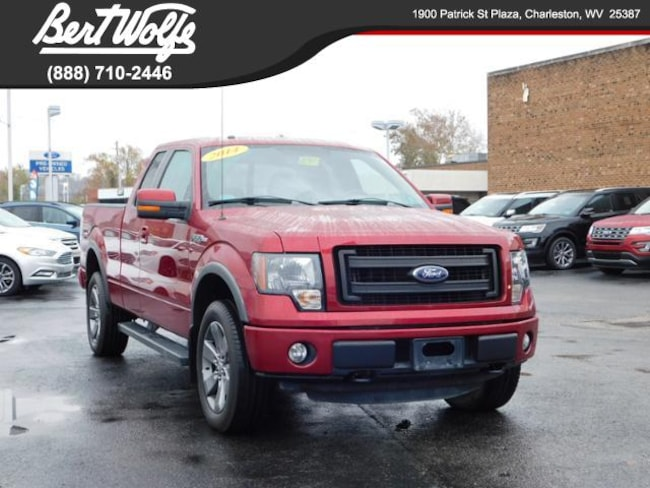 2014 Ford F-150 4WD Supercab Extended Cab Truck