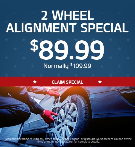 2 Wheel Alignment Special