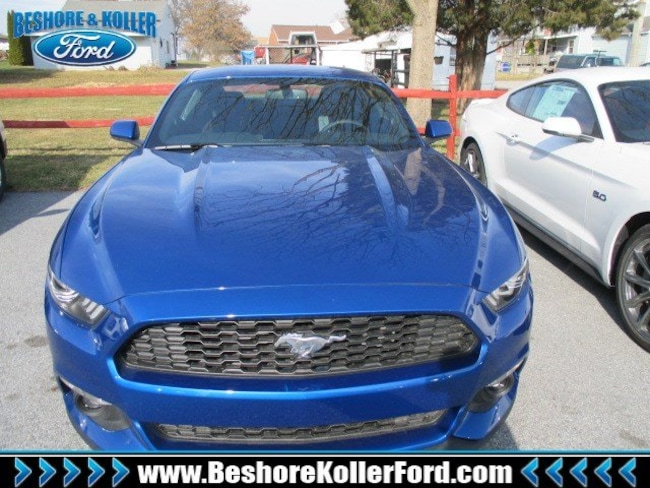 2017 Ford Mustang MUSTANG ECOBOOST COUPE Coupe