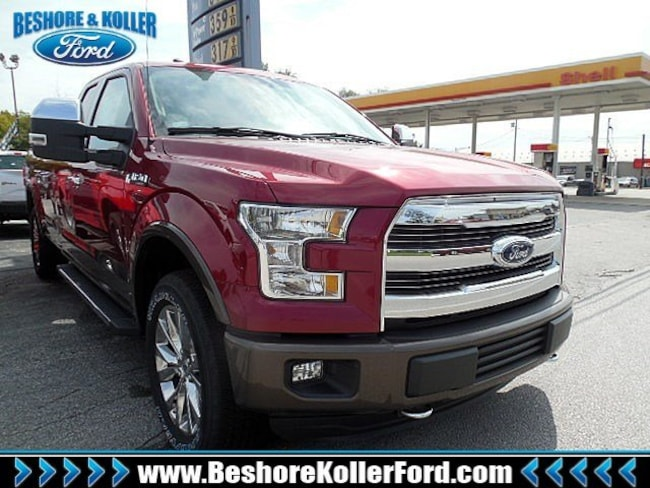 2016 Ford F-150 Lariat Truck SuperCab