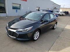 New 2019 Chevrolet Cruze LT Hatchback 3G1BE6SMXKS600056 for Sale in Elkhart IN