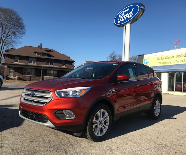 New 2019 Ford Escape SE SUV in Knox, IN