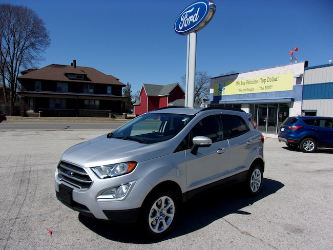 New 2019 Ford EcoSport SE SE 4WD in Knox, IN