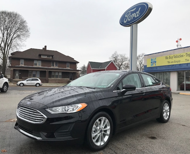 New 2019 Ford Fusion SE SE FWD in Knox, IN