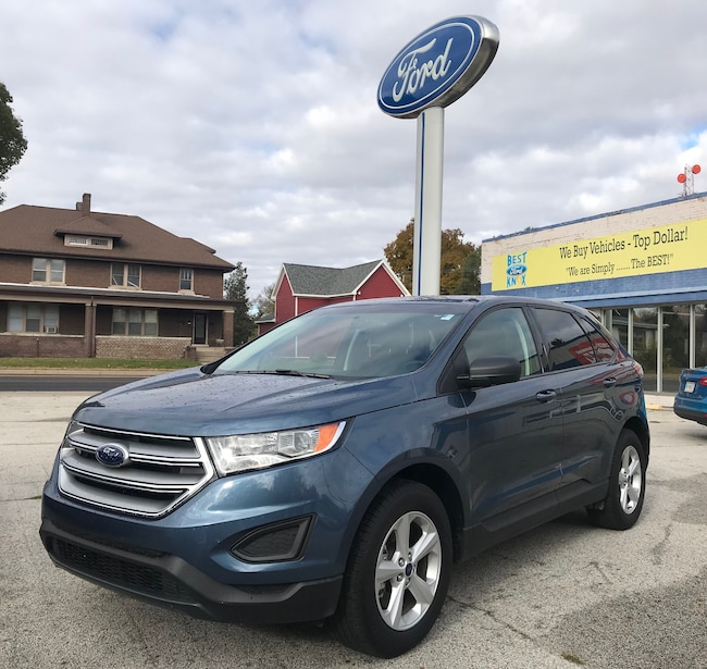 New 2018 Ford Edge SE SE AWD in Knox, IN