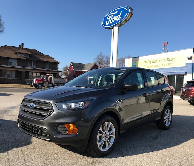 New 2019 Ford Escape S SUV in Knox, IN