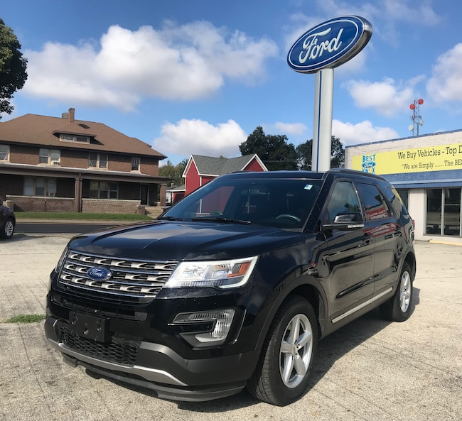 Used 2017 Ford Explorer XLT XLT 4WD Knox, IN