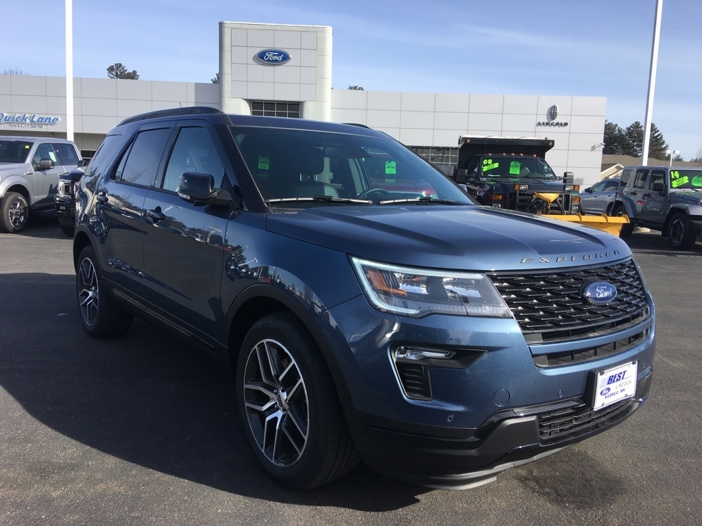 2019 Ford Explorer Sport Sport Utility For Sale in Nashua, NH
